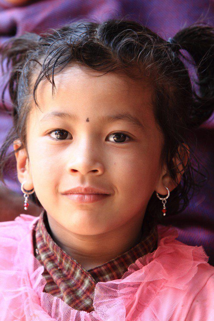 Mdchen aus Nepal